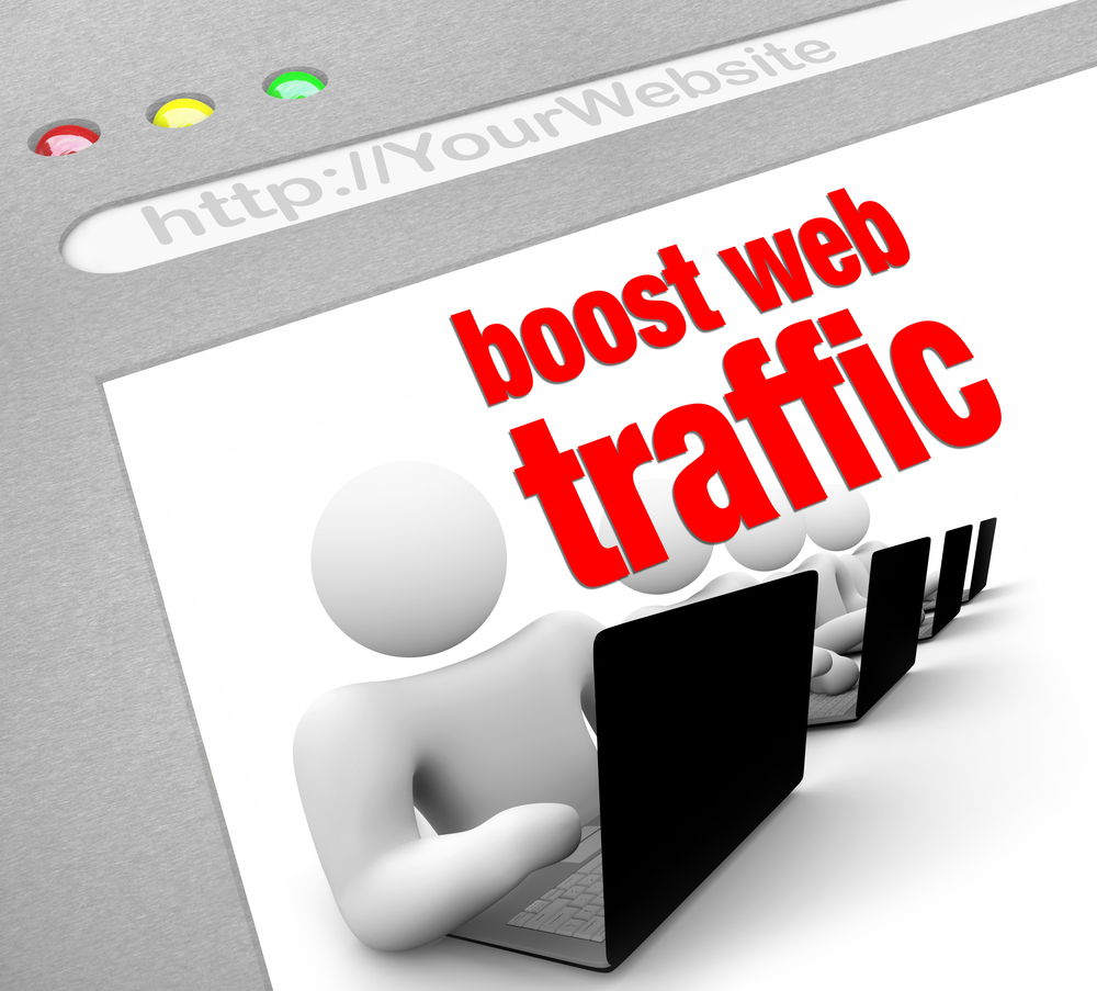 Latest trick on getting unlimited web traffics